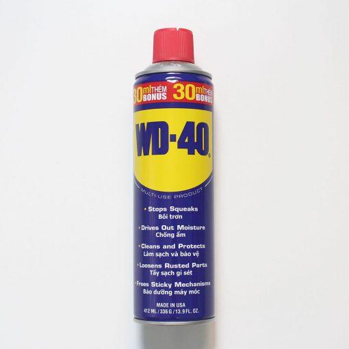 Dầu chống rỉ sét đa năng WD-40 412ml