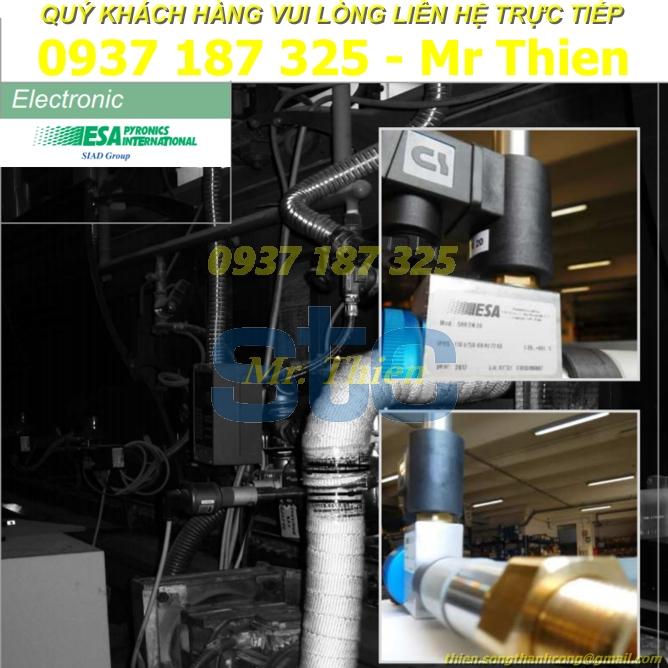 SHR DN20 – 24754 – Đầu dò cảm biến phát hiện ngọn lửa – ESA Pyronics Vietnam – Đại diện cung cấp ESA tại Việt Nam