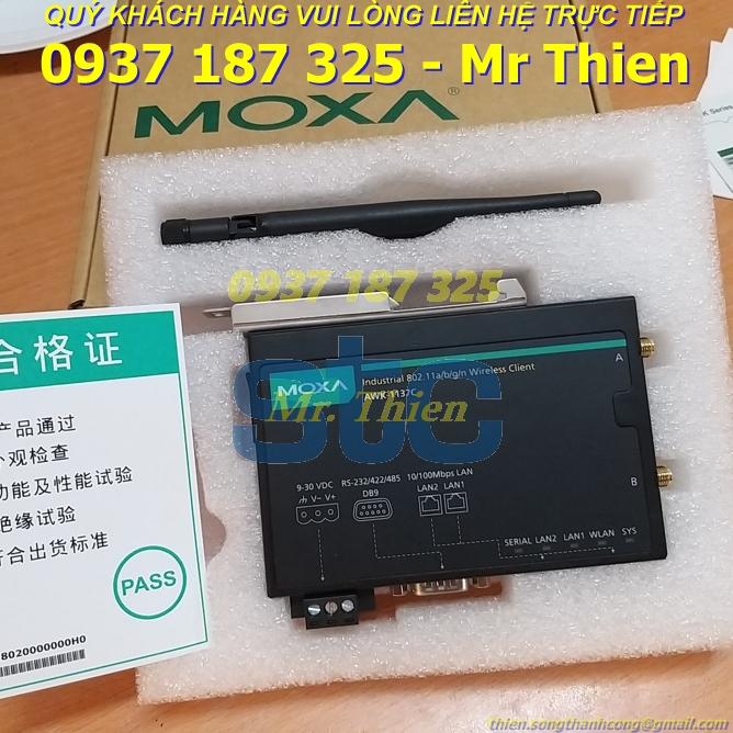 AWK-1137C – Bộ chuyển đổi tín hiệu – Moxa Vietnam – Đại diện phân phối Moxa chính hãng tại Việt Nam
