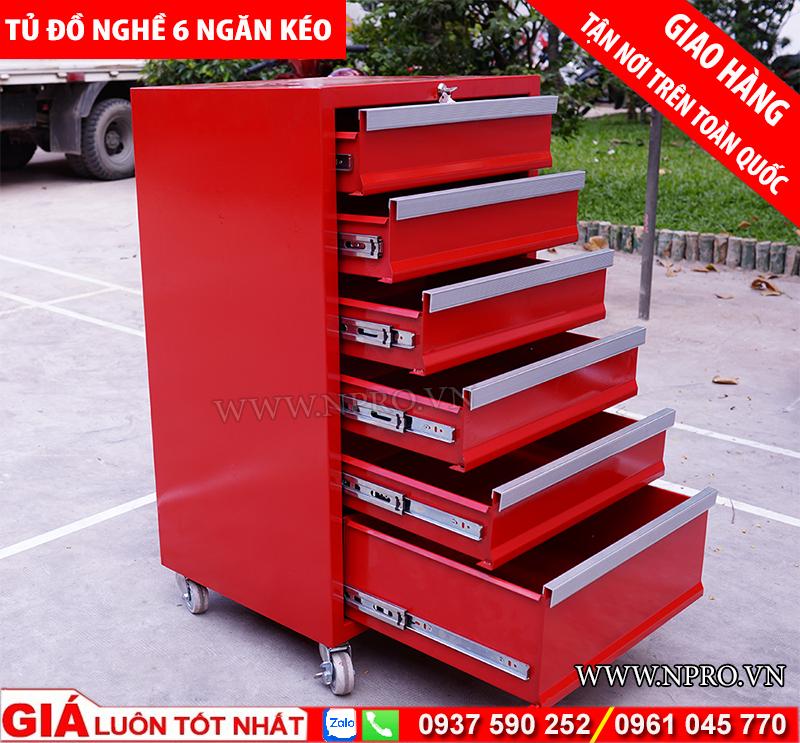 Tủ đựng đồ nghề 6 ngăn kéo sx tại Việt Nam giá tốt