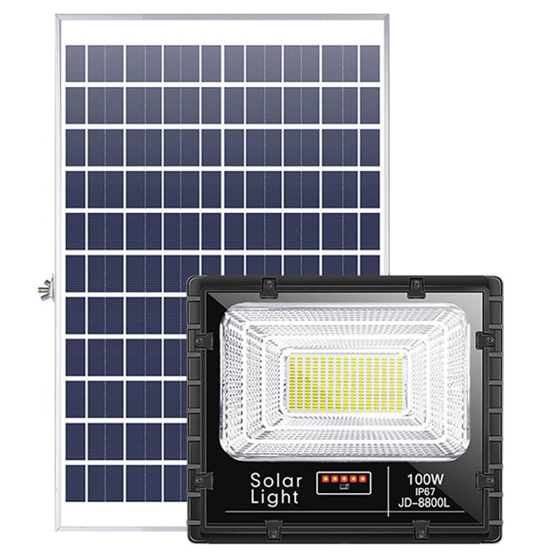 Đèn pha led năng lượng mặt trời 100 W JD-8800L - Bitek