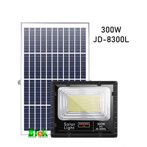 Đèn pha led năng lượng mặt trời 300 W JD-8300L