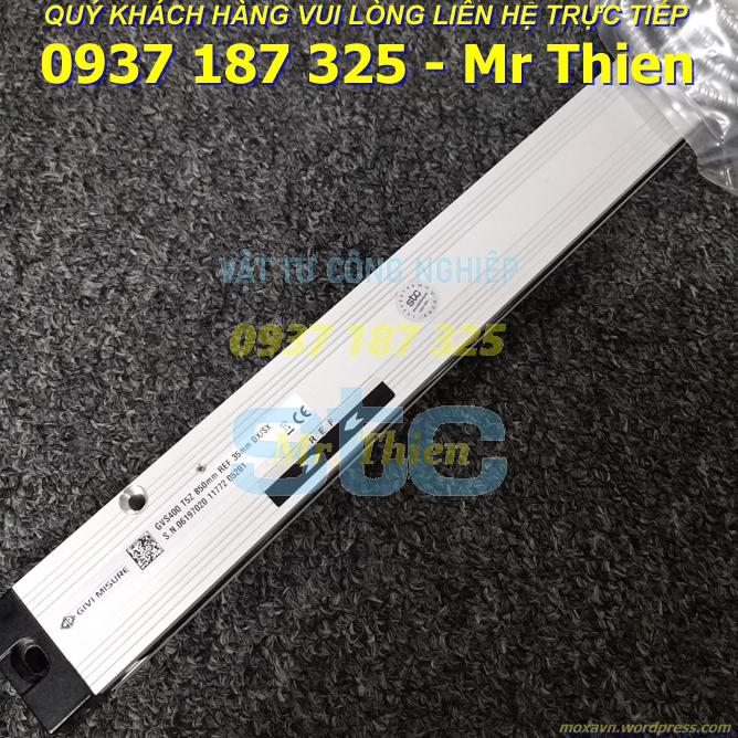 GVS400 T5Z 850mm REF 35mm Dx/Sx – Thước quang – Givi Misure Vietnam – Đại diện phân phối Givi Misure chính hãng tại Việt Nam