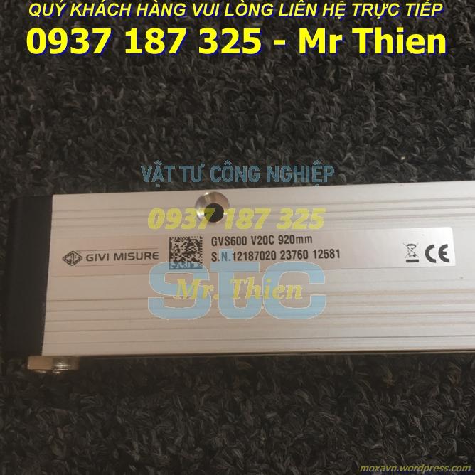 GVS600 V20C 00920 05VS M04/S CG3 – Thước quang – Givi Misure Vietnam – Đại diện phân phối Givi Misure chính hãng tại Việt Nam