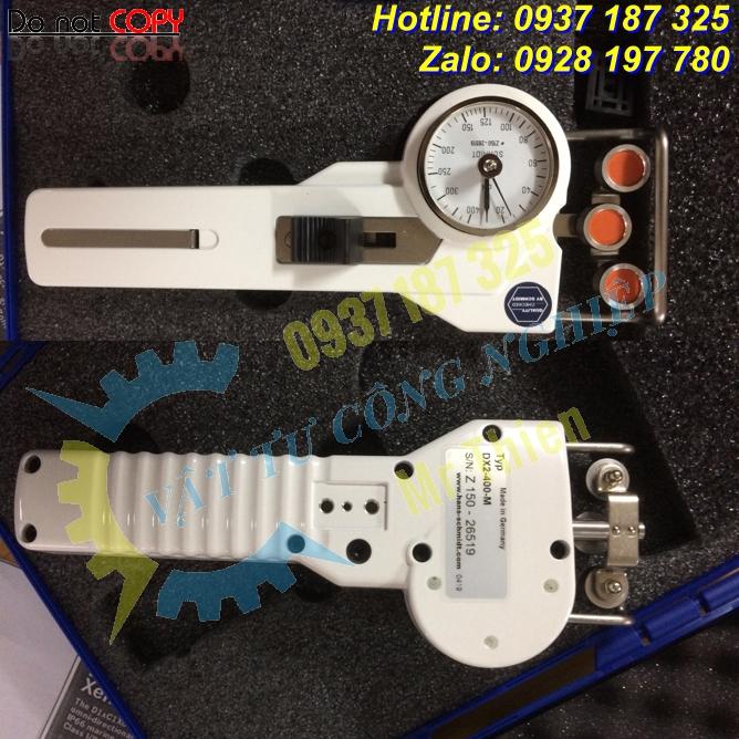 DX2-400-M – Dụng cụ đo kiểm sức căng sợi chỉ – Đại lí cung cấp Hans Schmidt Vietnam chính hãng giá tốt