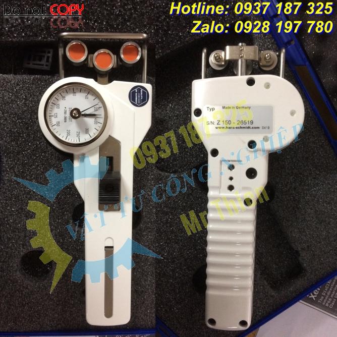 DTS-1000 – Máy kiểm tra sức căng sợi chỉ của hãng Hans Schmidt Vietnam giá cạnh tranh
