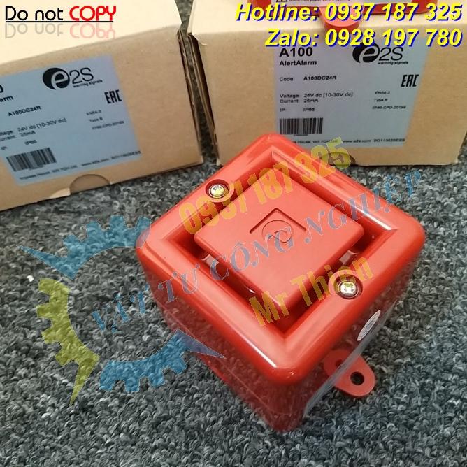 A100DC24R – Còi báo động E2S Vietnam – Đại diện phân phối E2S chính hãng nhập khẩu 100% tại Việt Nam