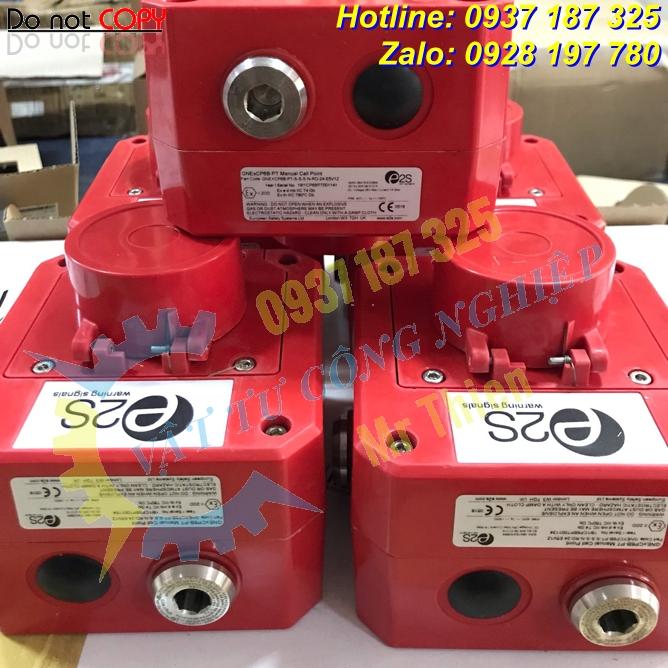GNExCP6A-BG-S-N-N-N-RD – Nút nhấn khẩn cấp E2S Vietnam – Đại diện phân phối E2S chính hãng nhập khẩu 100% tại Việt Nam