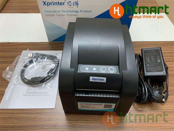 Máy in XPrinter XP 350B in nhiệt Giá rẻ