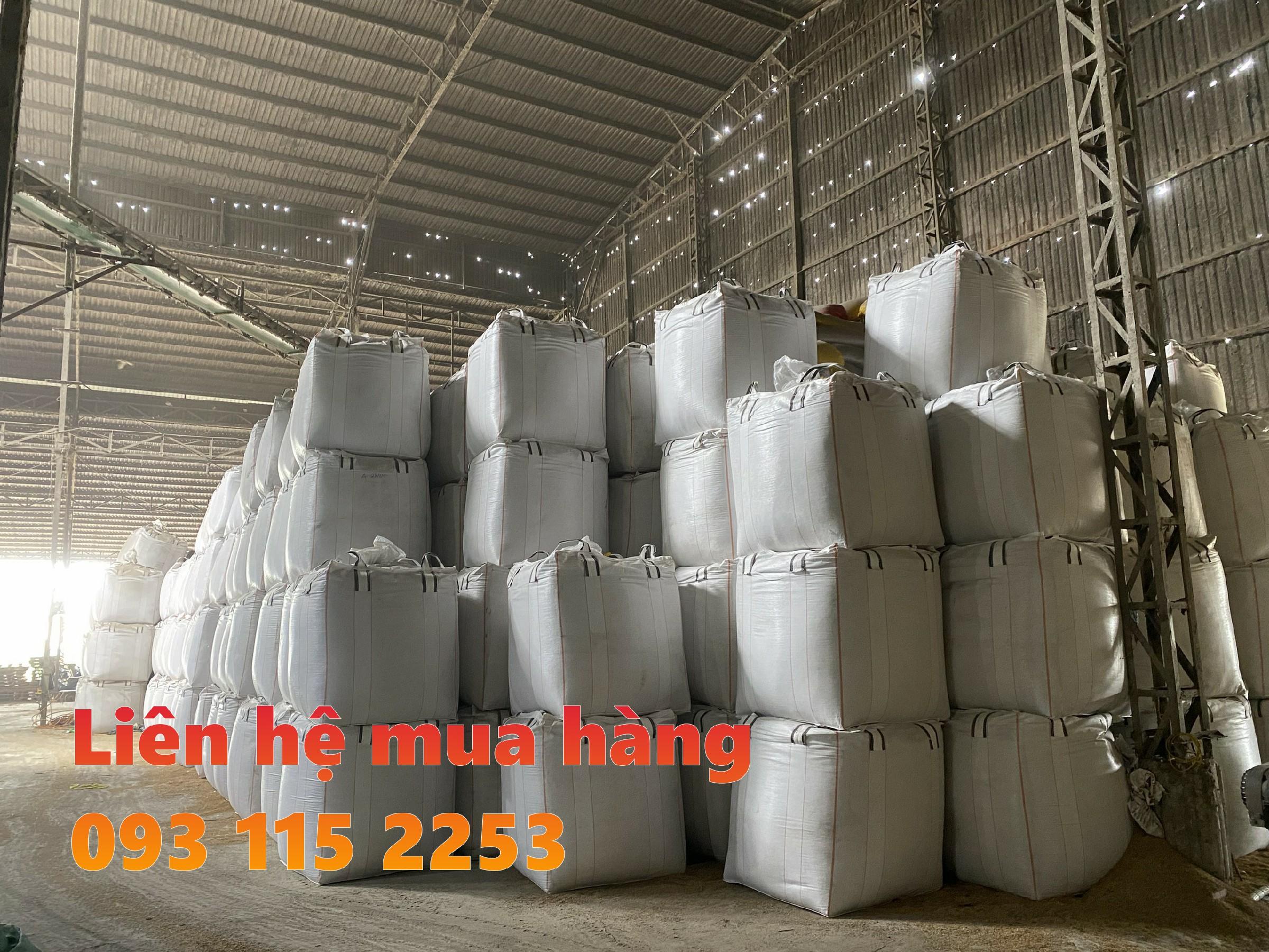 Túi jumbo trữ kho lúa ống nạp đáy xả tiện lợi giá rẽ