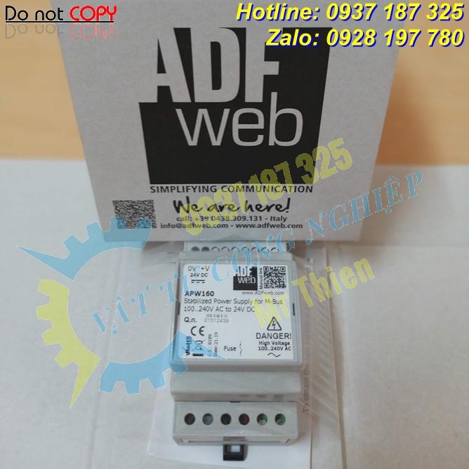 APW160 – Bộ cấp nguồn điện Mbus BACnet – Nhà phân phối ADFweb Vietnam nhập khẩu chính hãng giá cạnh tranh