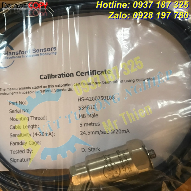 HS-4200250108 – Cảm biến độ rung – Đại lí cung cấp Hansford Sensors Vietnam nhập khẩu chính hãng giá tốt