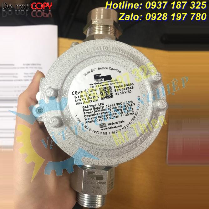 SG895-LPG – Đầu dò khí gas – Beinat Vietnam – Đại lí cung cấp hàng Beinat chính hãng giá cạnh tranh