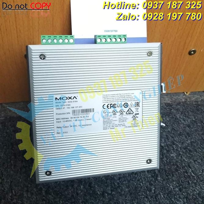 EDS-516A – Bộ chuyển mạch Ethernet công nghiệp 16 cổng – Đại diện phân phối Moxa Vietnam nhập khẩu chính hãng giá tốt