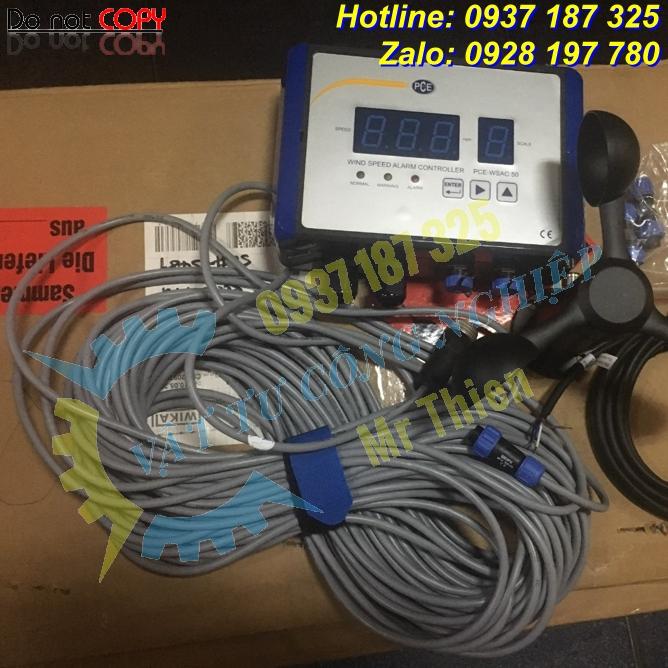 PCE-WSAC 50-SC25 – Dây cáp kết nối – Nhà phân phối PCE Instruments Vietnam hàng nhập khẩu chính hãng giá cạnh tranh