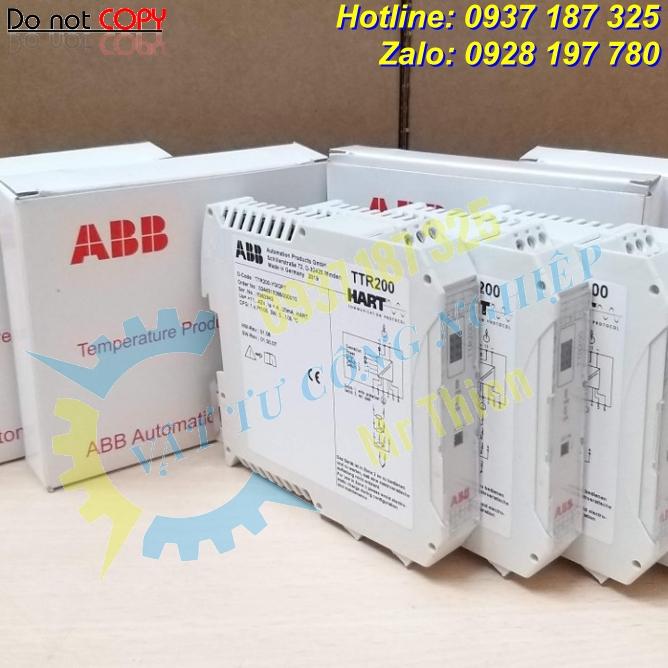 TTR200-Y0/OPT , Bộ điều chỉnh nhiệt độ chuẩn HART – Nhà cung cấp ABB Vietnam chính hãng nhập khẩu giá tốt