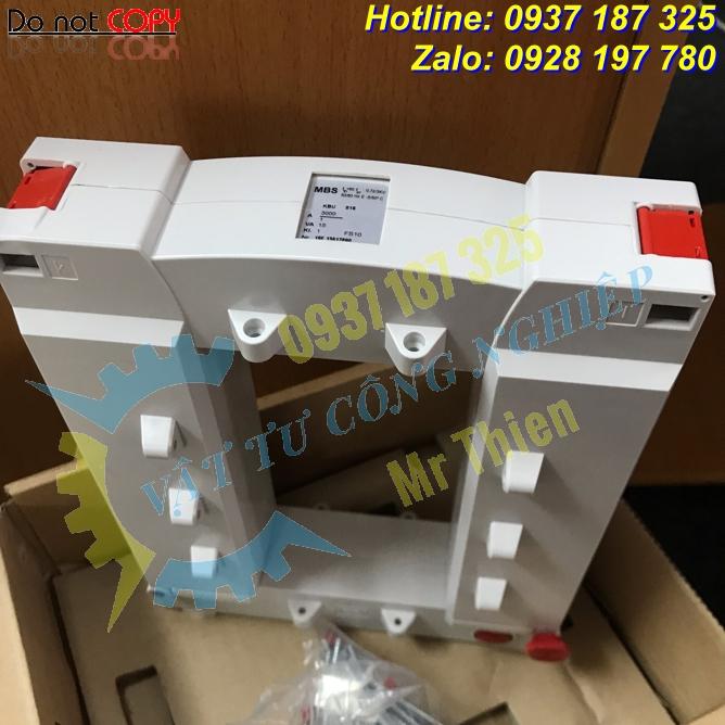 KBU 816 3000/1A 15VA KI.1FS10 , Biến dòng , MBS Vietnam , Đại diện phân phối MBS chính hãng giá tốt tại Việt Nam