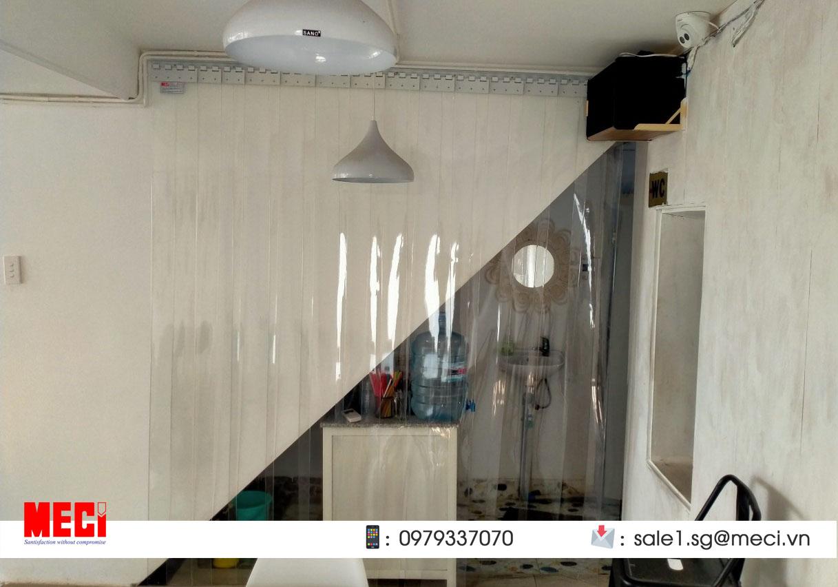 Rèm nhựa ngăn lạnh điều hòa giá rẻ tại tp hcm