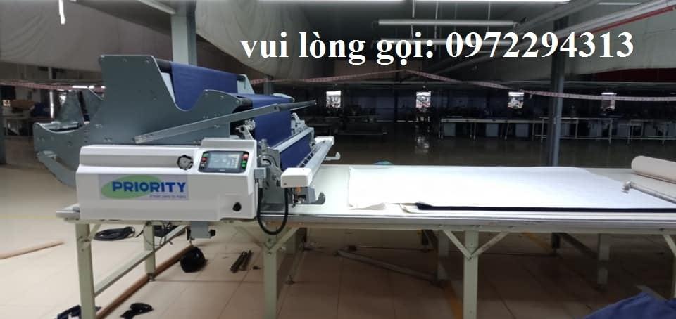 máy trải vải tự động mới- sửa chữa máy trải vải