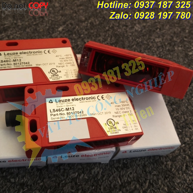 LS46C-M12 , Cảm biến quang , Leuze Vietnam , Đại lý cung cấp Leuze chính hãng, giá tốt tại Việt Nam