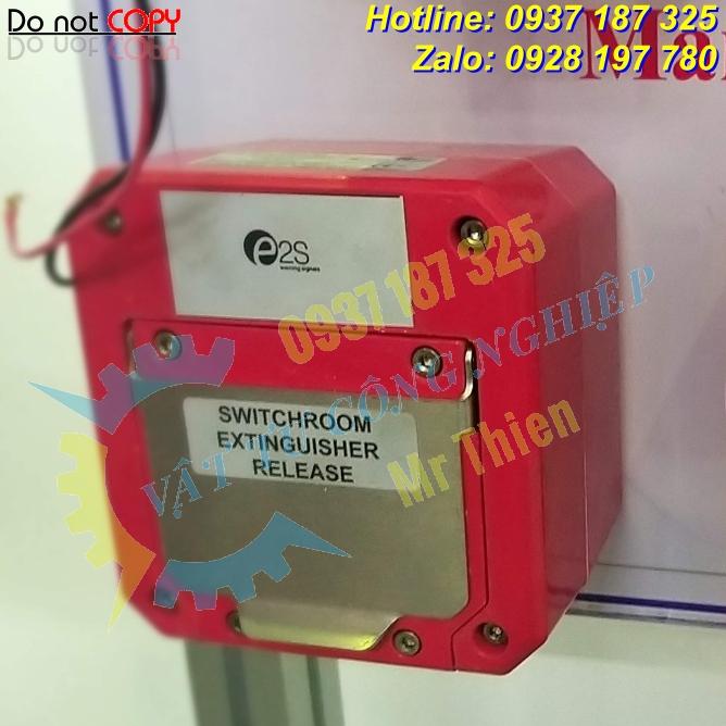 STExCP8BGSASDL3A1R , Nút nhấn khẩn cấp dạng kính vỡ , Đại diện phân phối E2S Vietnam chính hãng giá tốt