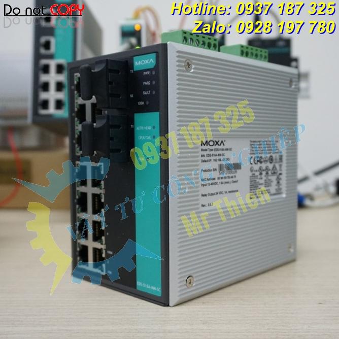 EDS-608 , Bộ chuyển đổi tín hiệu , Moxa Vietnam , Đại diện phân phối Moxa chính hãng, giá tốt tại Việt Nam