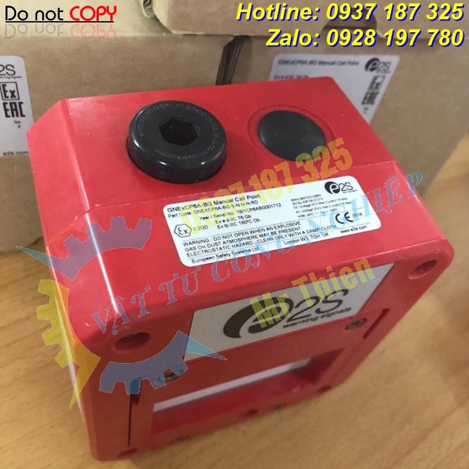GNExCP6A-BGSSLNRD , Nút nhấn kính vỡ khẩn cấp , E2S Vietnam , Đại diện phân phối E2S chính hãng độc quyền tại Việt Nam