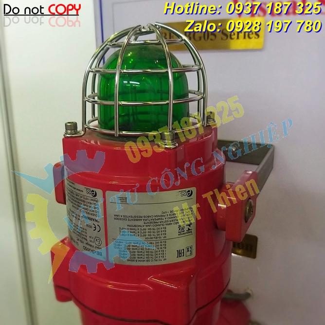 BEXBG05DPDC024CB2A1R/G , Đèn xenon xanh lá báo động cháy nổ , E2S Vietnam , Đại diện phân phối E2S chính hãng độc quyền tại Việt Nam