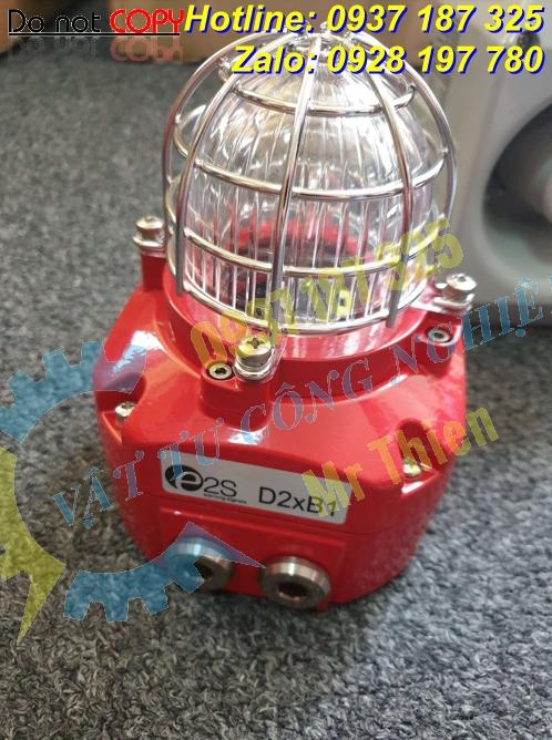 GNExB2X21AC230BS2A1R/C , Đèn xenon chớp cảnh báo cháy nổ nguy hiểm , E2S Vietnam , Đại diện phân phối E2S chính hãng tại Việt Nam