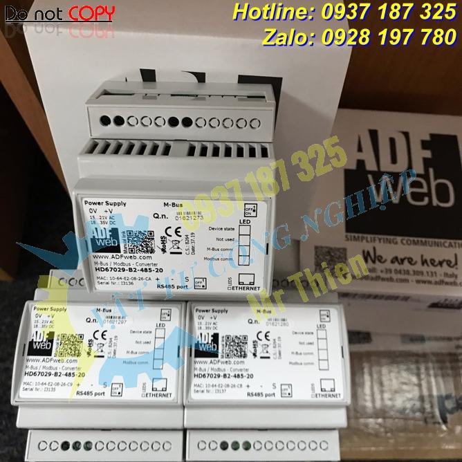 HD67029-B2-485-20 , Bộ chuyển đổi Mbus sang RS485 , ADFweb Vietnam , Đại lý phân phối ADFweb tại Việt Nam