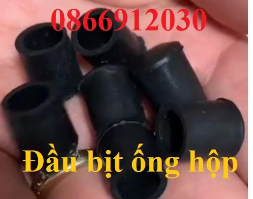 Nắp bịt sắt hộp, Nút cao su tròn ống phi 8