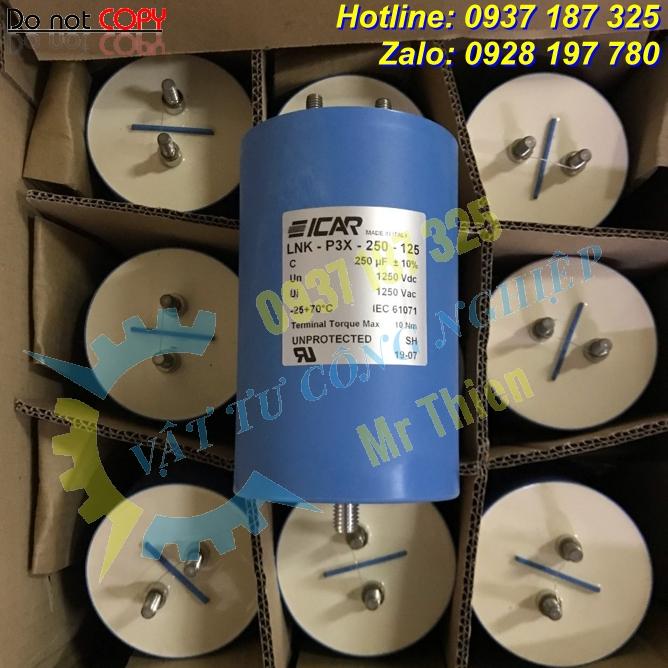 LNK-P3X-250-125 , Icar Vietnam , Tụ điện , Đại lý phân phối Icar tại Việt Nam, hàng nhập chính hãng, giá cạnh tranh