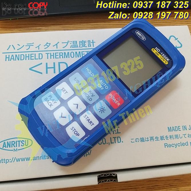 HD-1250K , Anritsu Vietnam , Thiết bị đo nhiệt độ cầm tay , Đại lý phân phối Anritsu chính hãng tại Việt Nam