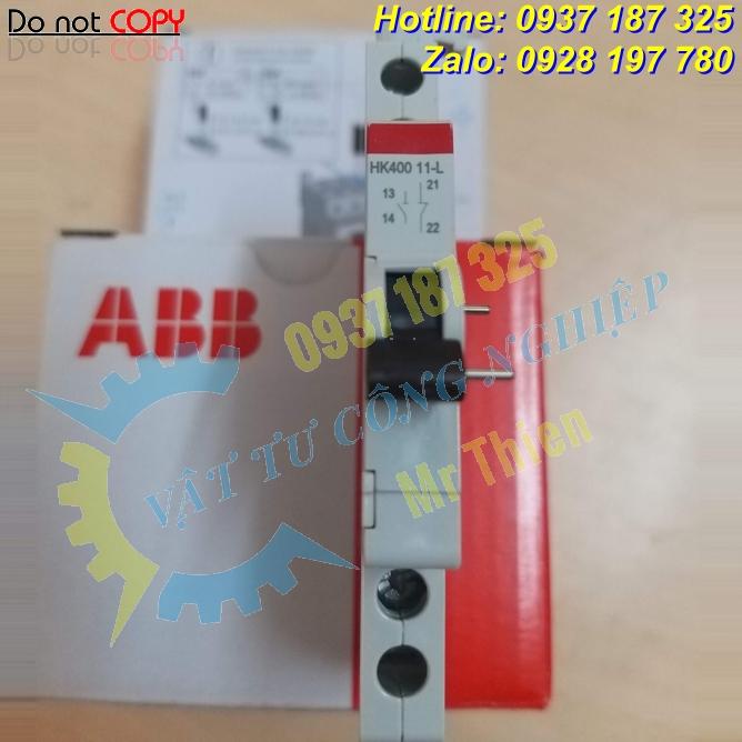 HK40011-L , ABB Vietnam , Tiếp điểm phụ công tắc , Nhà cung cấp ABB chính hãng tại Việt Nam