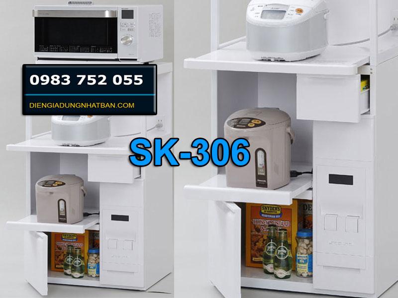 Tổng kho Tủ đựng gạo đa năng nhật SK-306W Rẻ nhất Hải Phòng