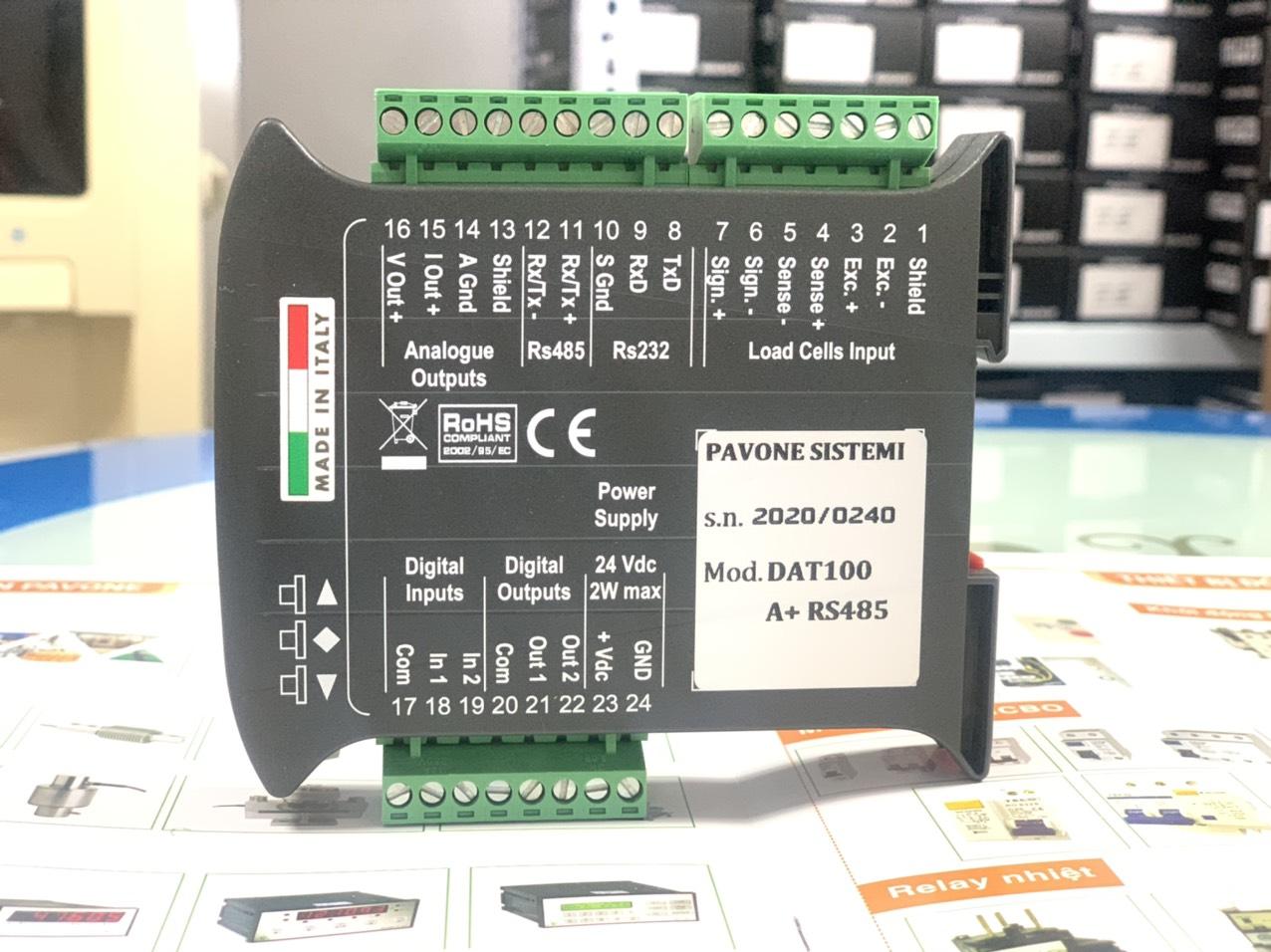 Đầu cân điện tử DAT100/A có thêm đầu ra Analog (0-10V & 4-20mA), cập nhật bảng giá tốt nhất 2021 tại đây