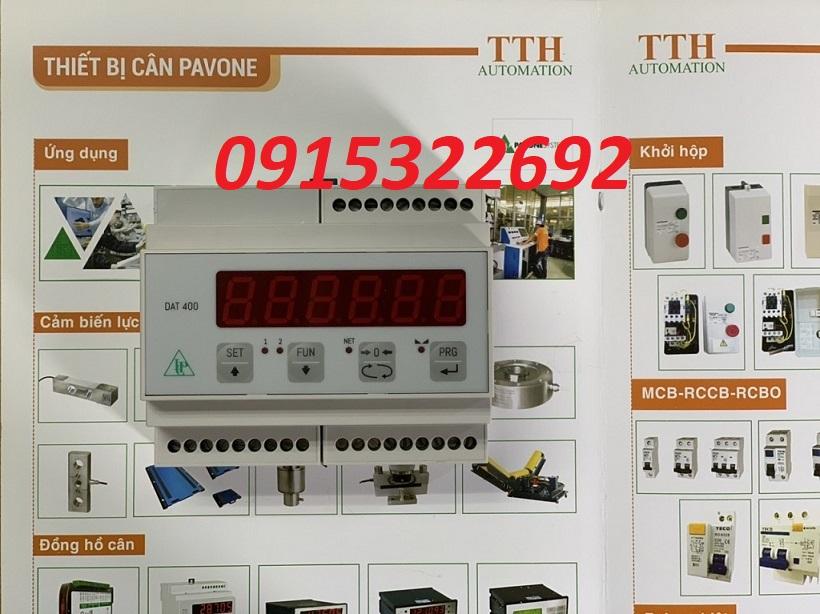 Đầu cân điện tử DAT400/A có thêm đầu ra Analog (0-10V & 4-20mA). Giá Đại Lý tại đây : 0915322692
