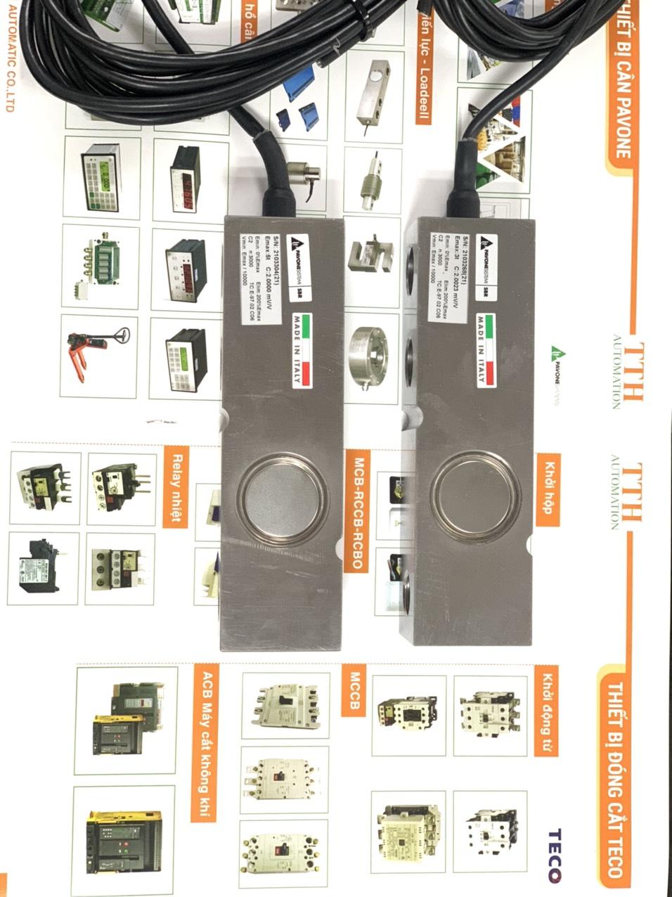 Loadcell thanh SBR - sản xuất Italy. Nhập Khẩu Chính Hãng bởi TTH-Automation