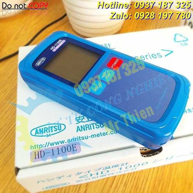 HD-1100E , Anritsu Vietnam , Thiết bị đo nhiệt độ cầm tay , Đại lý phân phối Anritsu chính hãng tại Việt Nam