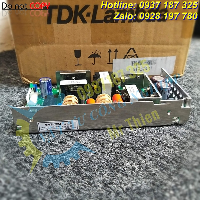 HWS100A-24/B , TDK-Lambda Vietnam , Bộ nguồn , Power supply , Đại lý phân phối TDK-Lambda chính hãng tại Việt Nam