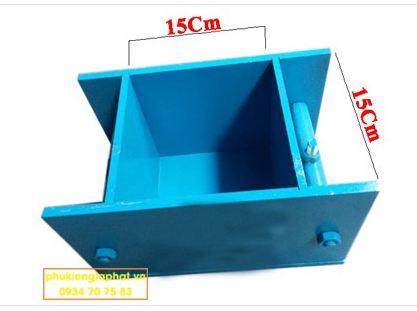Khuôn mẫu bê tông thép 150x150x150mm