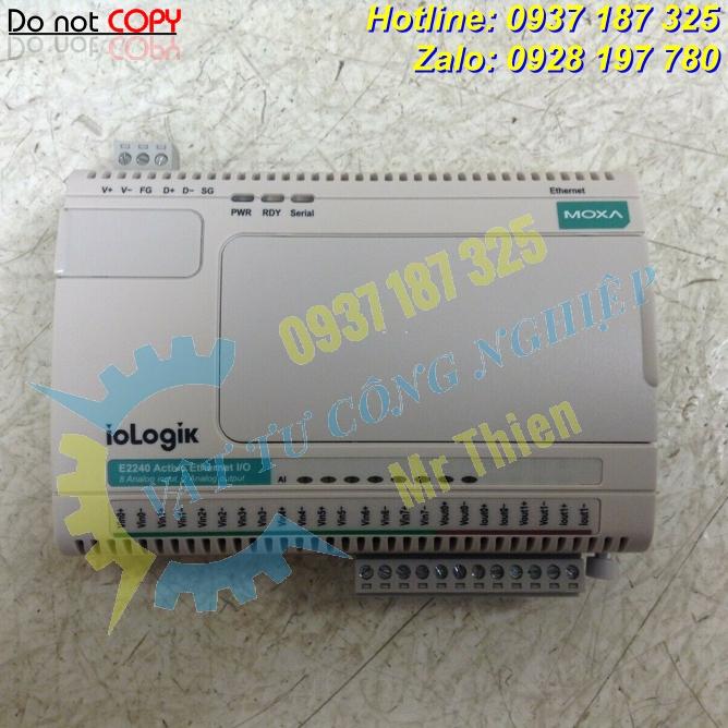 ioLogik E2242 , ioLogik E2240 , Moxa , Bộ chuyển mạch ethernet từ xa