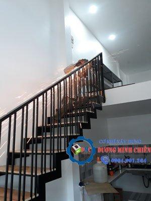 cầu thang sắt tại tphcm