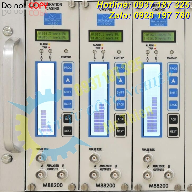 M88200 , IRD8800 , IRD Mechanalysis Vietnam , Bộ giám sát độ rung ,