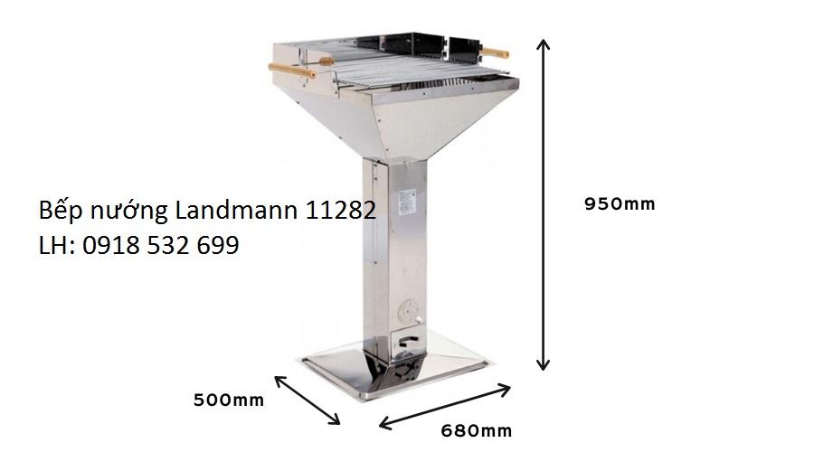 Bếp nướng không khói Landman 11282