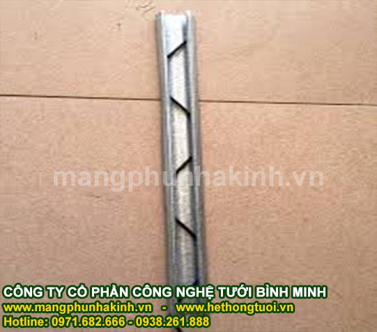 Thanh nẹp C,zíc zắc lò xo,bán nẹp và ziczac nhà lưới,báo giá nẹp nhà lưới,máng nẹp zigzag
