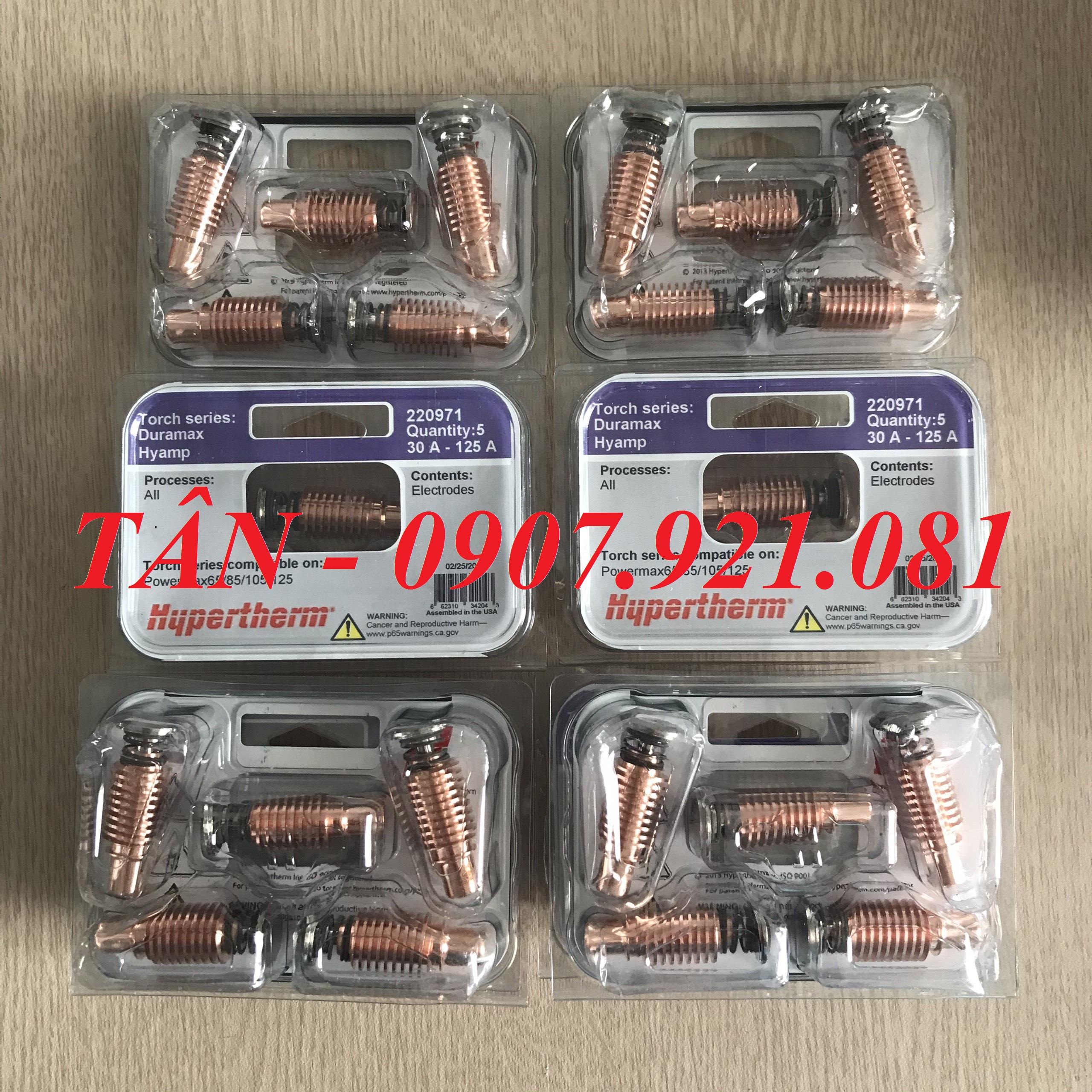 Điện cực plasma 220971 – Electrode plasma 220971 Hypertherm