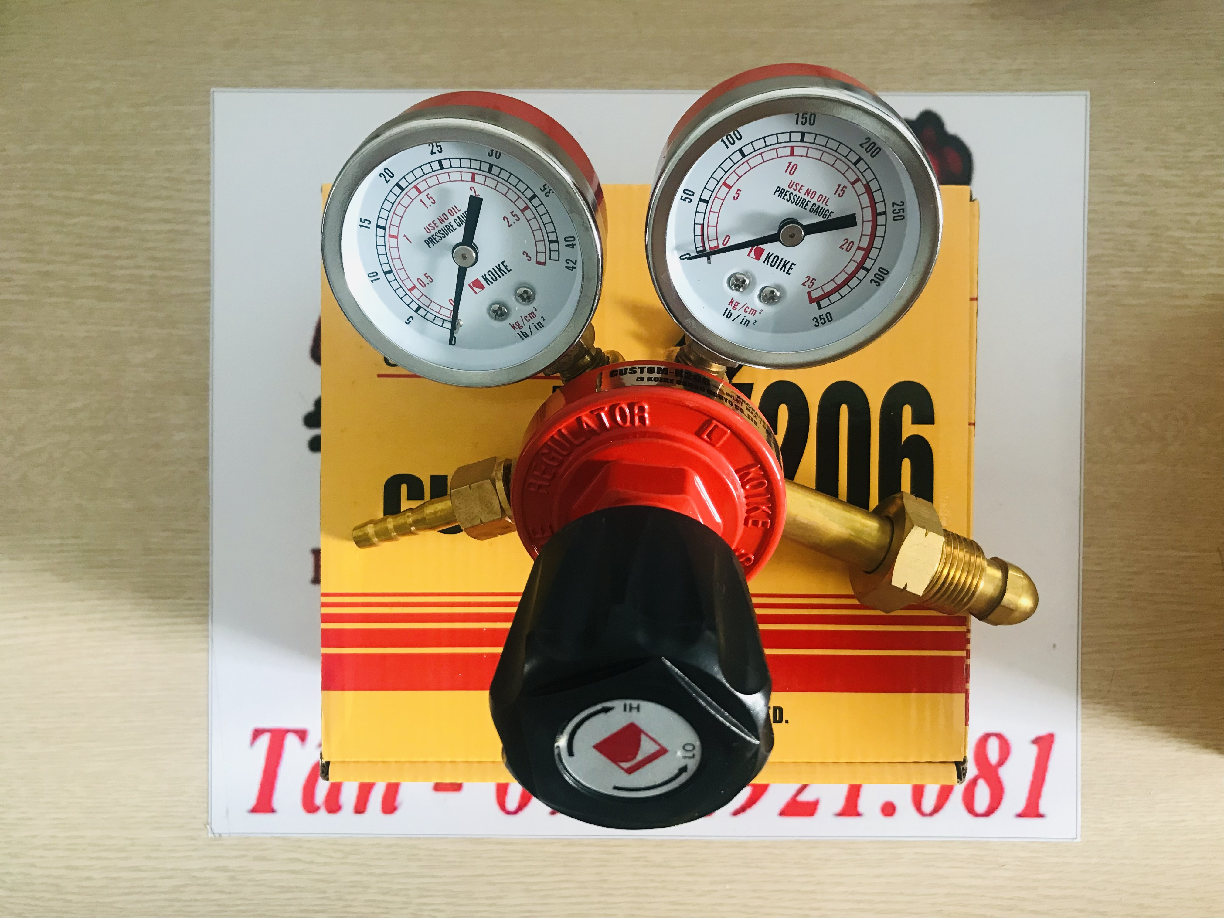 Đồng hồ Gas Koike - Custom K206 / Gas Regulator Koike