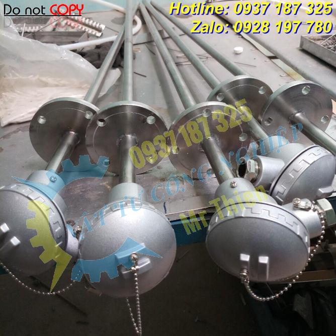 Thermomatrix , Cảm biến PT100 150 độ C, 70mm, phi 10mm, 4-20mA, G1/2 ,