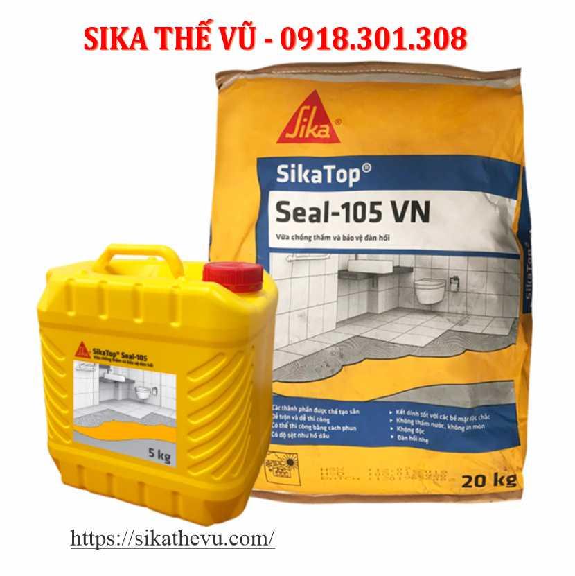 Sikatop Seal 105 Chống Thấm Chất Lượng Tốt _Sika Thế Vũ_Cần Thơ